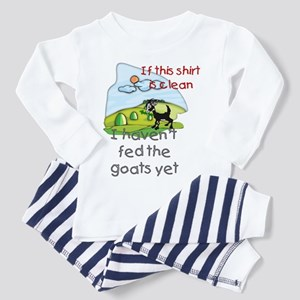 Haven't Fed Goats Yet Toddler Pajamas