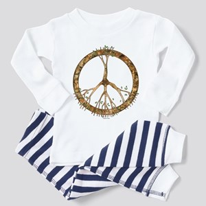 Peace Tree Toddler Pajamas