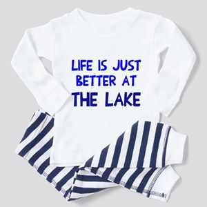 Life is just better lake Toddler Pajamas
