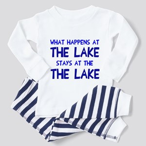 Happens at lake stays Toddler Pajamas