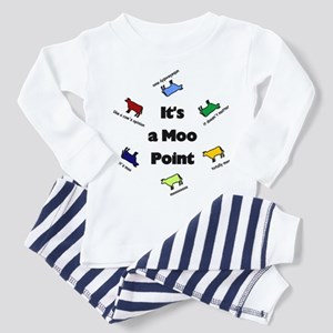 It's a Moo Point Toddler Pajamas