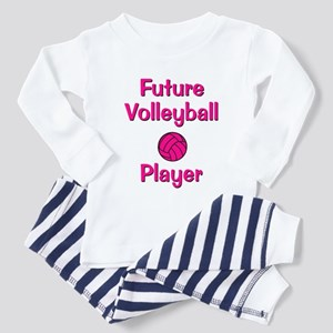 Future Volleyball Player Toddler Pajamas