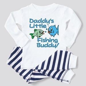 DADDY'S LITTLE FISHING BUDDY! Toddler T-Shi