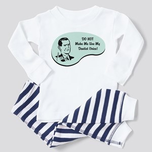 Dentist Voice Toddler Pajamas