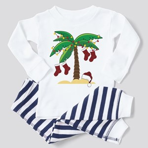 Tropical Christmas Toddler Pajamas