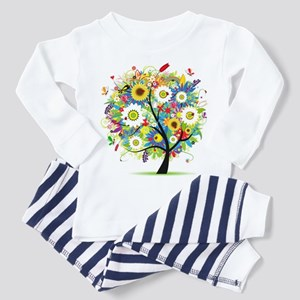 summer tree Toddler Pajamas