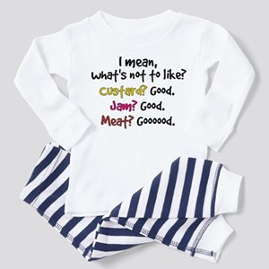 'What's Not To Like?' Toddler Pajamas