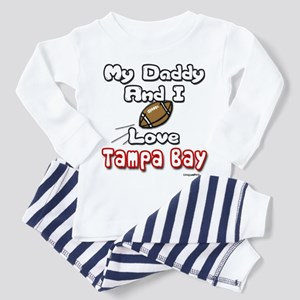 My Daddy And I love Tampa Bay Toddler T-Shi