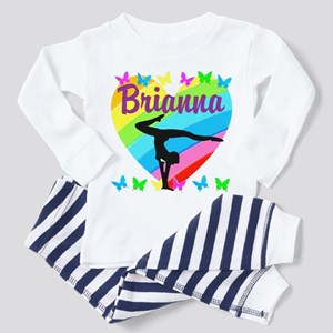 PERSONALIZE GYMNAST Toddler Pajamas