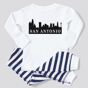 San Antonio Skyline Toddler Pajamas