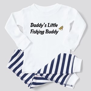 Daddy's Little Fishing Buddy Toddler T-Shir