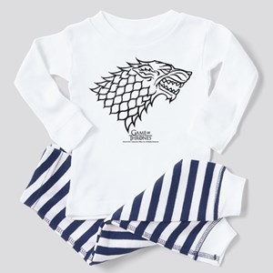 Game of Thrones House Stark Wolf Toddler Pajamas