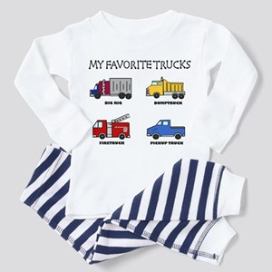 My Favorite Trucks Toddler Pajamas