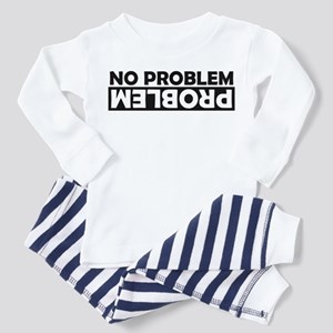 No Problem / Problem Toddler Pajamas