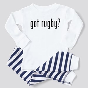 got rugby? Toddler Pajamas