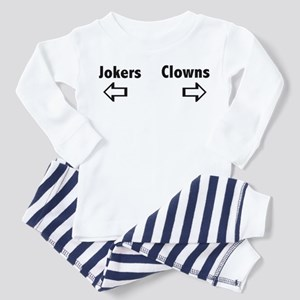 Clowns & Jokers Toddler Pajamas