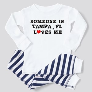 Someone in Tampa Toddler Pajamas