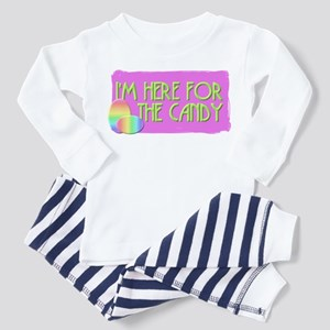 Here For The Candy Easter Toddler Pajamas