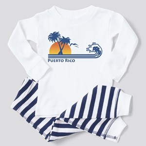 Puerto Rico Toddler Pajamas