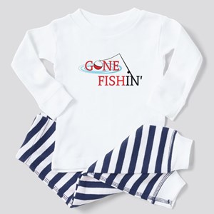 Gone fishing bobber and fishing pole Pajamas