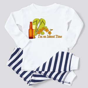 I'm On Island Time Toddler Pajamas