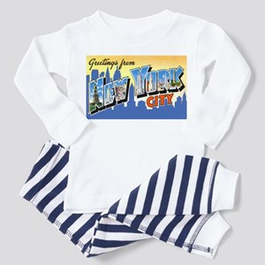 New York City Greetings (Front) Toddler T-S
