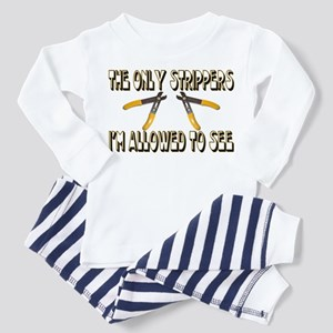 Only Strippers Toddler Pajamas