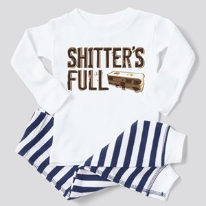 Shitter's Full Toddler Pajamas