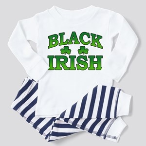 Black Irish Toddler Pajamas