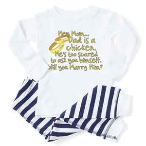 34a45e07 Mommy Will You Marry Daddy Toddler Pajamas - CafePress