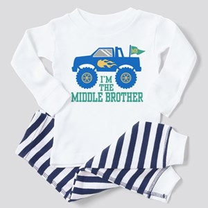 Middle Brother Toddler Pajamas