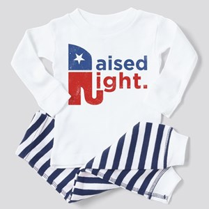 Raised Right Toddler Pajamas
