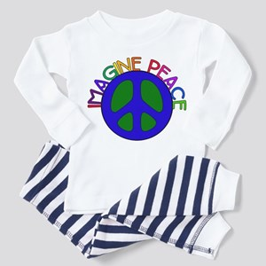 Imagine Peace Toddler Pajamas
