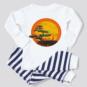 Sunset Bonsai Toddler Pajamas