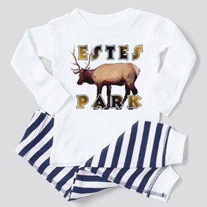 Estes Park , Colorado Elk  Toddler Pajamas