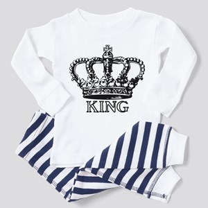 King Crown Toddler Pajamas