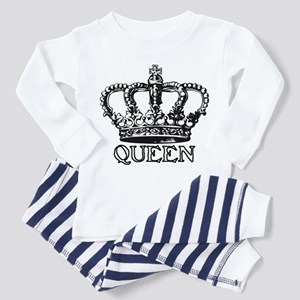 Queen Crown Toddler Pajamas