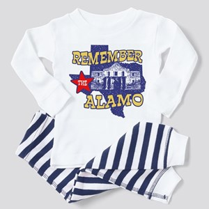 Texas Remember the Alamo Toddler Pajamas