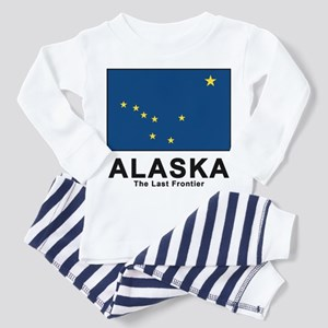 Alaska Flag Toddler Pajamas