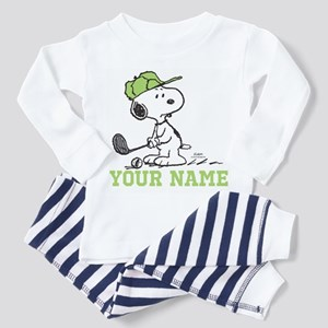Snoopy Golf - Personalized Toddler Pajamas