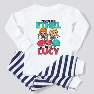 Ethel to my Lucy Toddler Pajamas