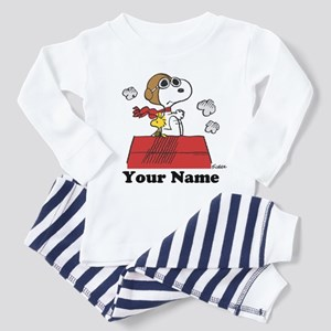 Peanuts Flying Ace Personalized Toddler Pajamas