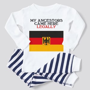 German Heritage Toddler Pajamas