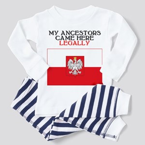 Polish Heritage Toddler Pajamas