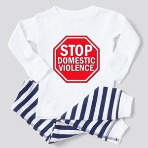 STOP Domestic Violence Toddler Pajamas