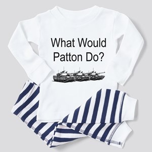 What Would Patton Do? Toddler Pajamas