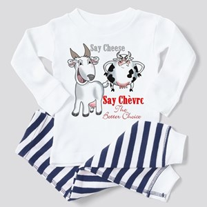 Goat- Say Cheese Toddler Pajamas