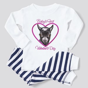 Goat-Baby First Valentine Pyg Toddler T-Shi