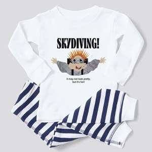 Skydiving Toddler Pajamas
