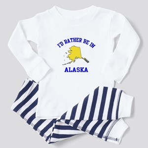 I'd Rather Be in Alaska Toddler Pajamas